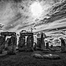 Stonehenge  in Monochrome by photograham