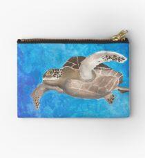 Turtle on an ocean adventure Studio Pouch