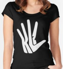 Kawhi Leonard Unofficial funny Women's Fitted Scoop T-Shirt