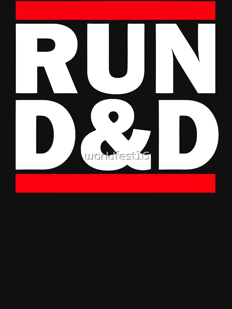 TShirtGifter presents: Run Dungeons and Dragons | Unisex T-Shirt