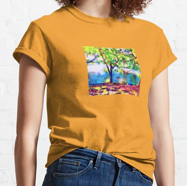 Magic Forest and Stream - Dreams Come True Classic T-Shirt