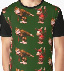 Donkey Kong Country - 5 Low Graphic T-Shirt