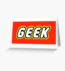 GEEK Greeting Card