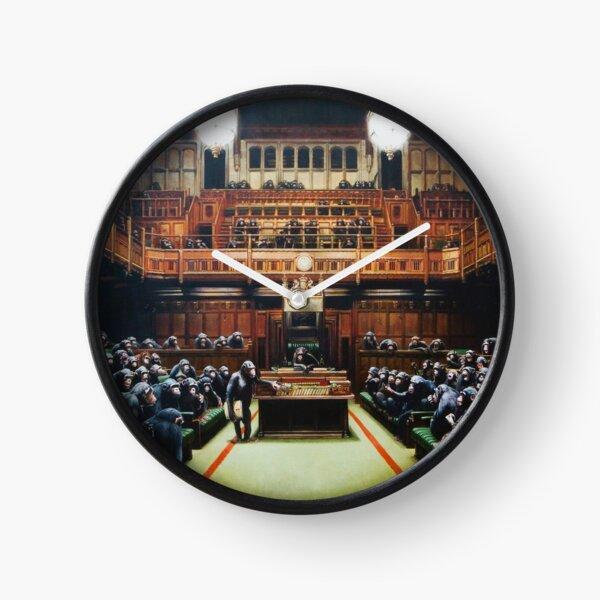 Devolved Parliament   Banksy Clock