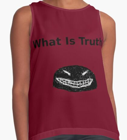 The Rauschmonstrum- What is Truth? Version 2 Sleeveless Top
