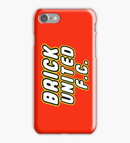 BRICK UNITED FC, Customize My Minifig iPhone Case/Skin
