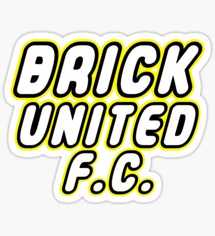 BRICK UNITED FC, Customize My Minifig Sticker