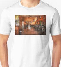 Barber - Union, NJ - The modern salon  Unisex T-Shirt