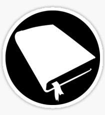 Graffiti Style Book Sticker