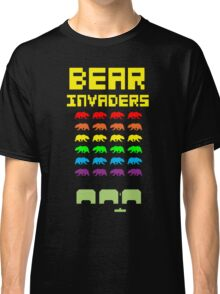 Funny Bear Invaders T-shirt