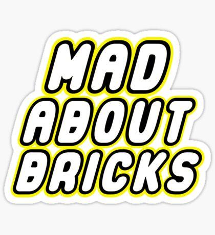 MAD ABOUT BRICKS, Customize My Minifig Sticker
