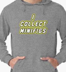I COLLECT MINIFIGS Lightweight Hoodie