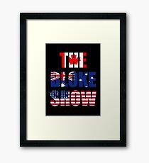 The Bloke Show Flags Framed Print