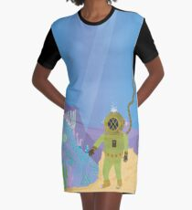 Hidden Treasure of the Deep Graphic T-Shirt Dress