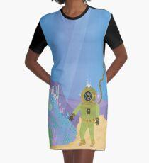 Hidden Treasure of the Deep Graphic T-Shirt Dress