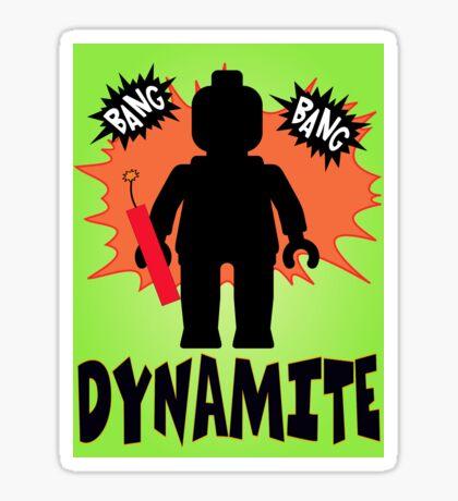 Dynamite Minifigure, Customize My Minifig Sticker