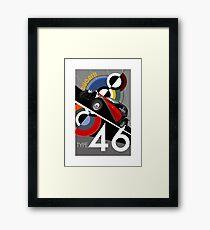Poster artwork - Bugatti Type 46 Framed Print