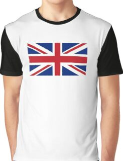 Union Jack, Flag of the United Kingdom, Britain, British flag, Pure and Simple Graphic T-Shirt