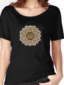Allah  Ornaments tee Women's Relaxed Fit T-Shirt