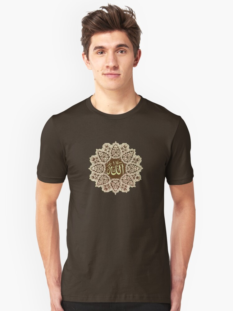Allah  Ornaments tee Unisex T-Shirt Front