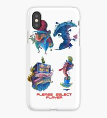 "Super Mario Bros 2 Collection ""Please Select Player"" iPhone Case"