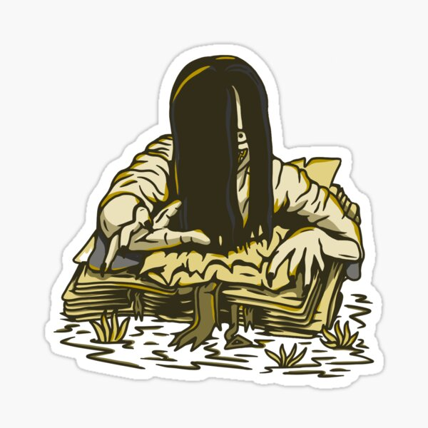 The Yurei (Character - Decayed Variant ) Sticker