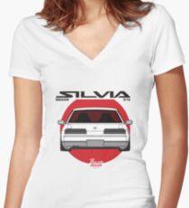 Classic / Oldschool S13 Mashup Women's Fitted V-Neck T-Shirt