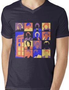 Doctors-Pop Mens V-Neck T-Shirt