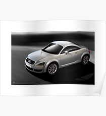 Poster artwork - Audi TT coupe Poster 1726ec45462