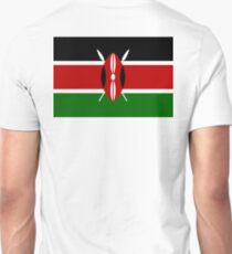 KENYA, Flag of Kenya, Swahili, Bendera ya Kenya, African Flags, Africa T-Shirt