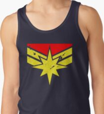 Distressed Super Heroine Tank Top