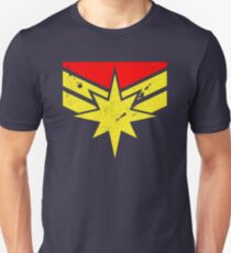Distressed Super Heroine Unisex T-Shirt