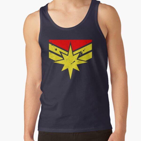 Distressed Super Heroine Tank Top
