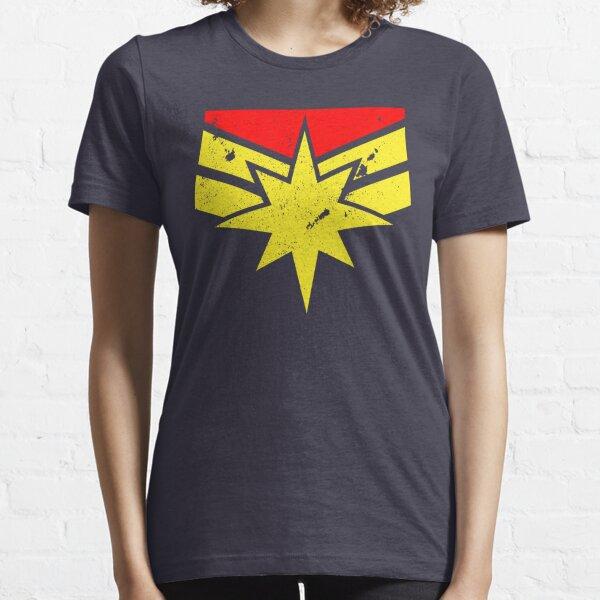 Distressed Super Heroine Essential T-Shirt