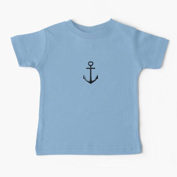 capitán eglefino Camiseta para bebés