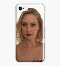 Blond Woman iPhone Case/Skin