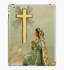 Vintage Faith devotional religious iPad Case/Skin