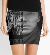 Sherlock Holems Mini Skirt