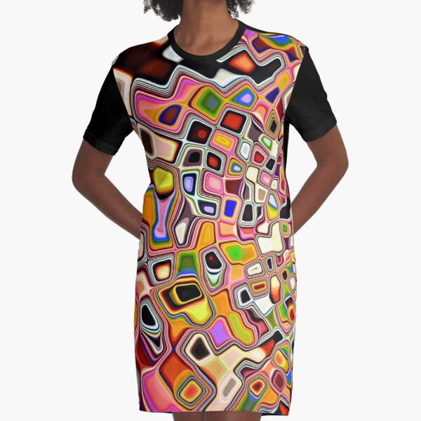 Like Gnarly Dude Graphic T-Shirt Dress