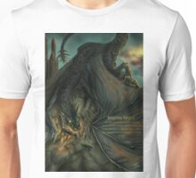 Hungarian horntail - With text version Unisex T-Shirt