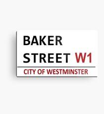 Baker Street Sign Metal Print
