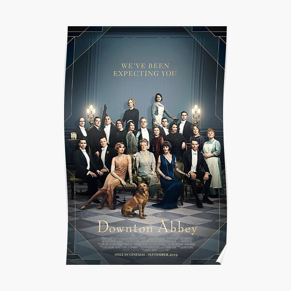 downton abbey movie poster Poster