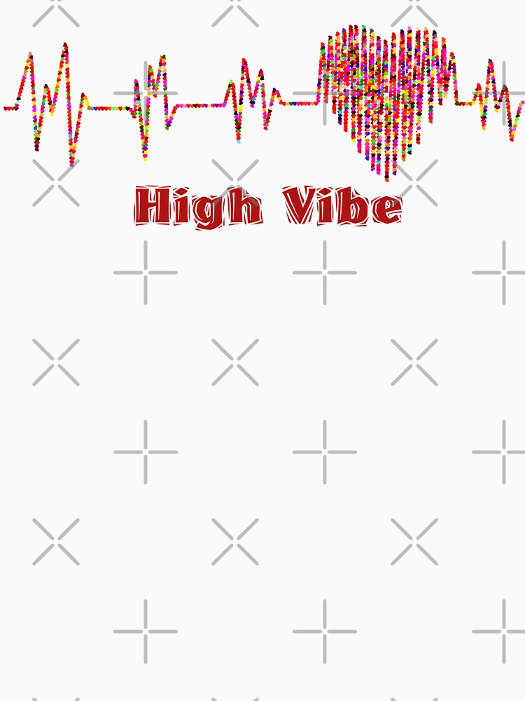 High Vibe Heart Electrocardiogram by CDA-Store