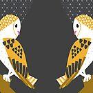 Barn Owls by InRC