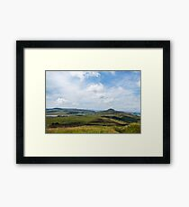 Lomond Hills Framed Print