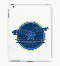 Automotive Car Art, Fictional Motor Oil logo iPad Case/Skin