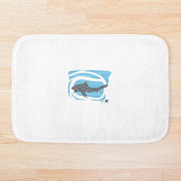 No Text Oceanical Whitetip Bath Mat