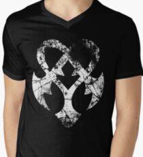 Kingdom Hearts Nightmare grunge Mens V-Neck T-Shirt