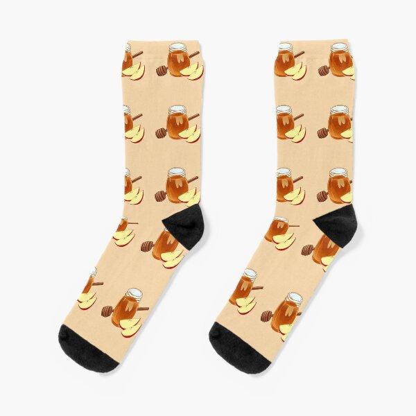 Apple Honey Dipper - Rosh Hashanah Socks