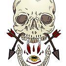 Skulls and Arrows by Heather Hartz